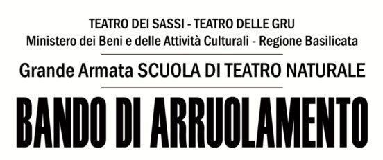 Teatro dei Sassi, Scuola di Teatro Naturale
